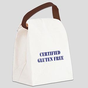 CERTIFIED GLUTEN FREE Canvas Lunch Bag