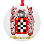 Bazy Round Ornament