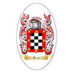 Bazy Sticker (Oval 10 pk)