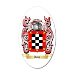 Bazy 35x21 Oval Wall Decal