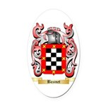 Bazinet Oval Car Magnet