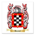 Bazinet Square Car Magnet 3