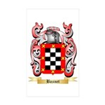 Bazinet Sticker (Rectangle 50 pk)