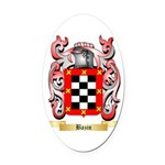 Bazin Oval Car Magnet