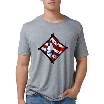 Red, White and Blue Freedom Mens Tri-blend T-Shirt