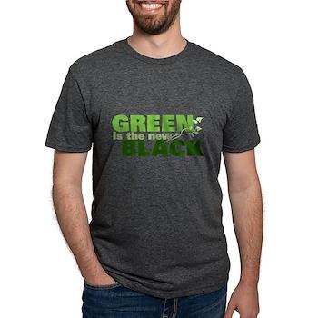 Green is the New Black Mens Tri-blend T-Shirt