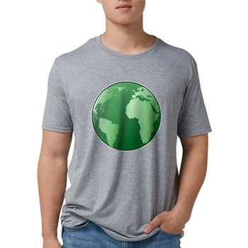 Green Earth Mens Tri-blend T-Shirt