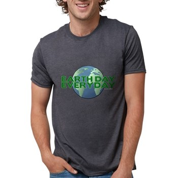 Earth Day Everyday Mens Tri-blend T-Shirt