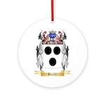 Bazille Ornament (Round)