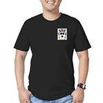 Bazile Men's Fitted T-Shirt (dark)