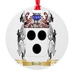 Bazile Round Ornament