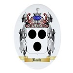 Bazile Ornament (Oval)
