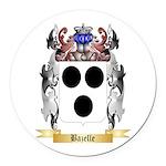 Bazelle Round Car Magnet