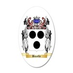 Bazelle 35x21 Oval Wall Decal