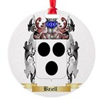 Bazell Round Ornament