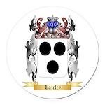 Bazeley Round Car Magnet