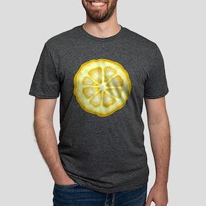 Lemon Slice Mens Tri-blend T-Shirt