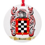 Bazanet Round Ornament