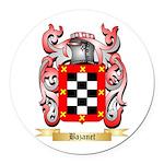 Bazanet Round Car Magnet