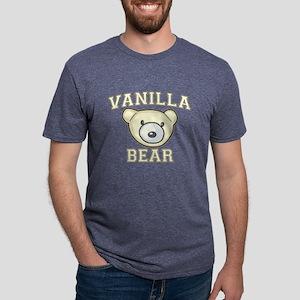 Vanilla Bear Mens Tri-blend T-Shirt
