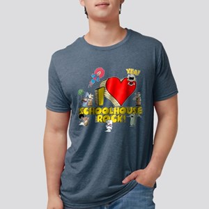 I Heart Schoolhouse Rock! Mens Tri-blend T-Shirt