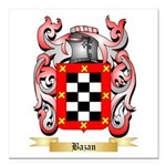 Bazan Square Car Magnet 3