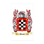 Bazan Sticker (Rectangle 50 pk)
