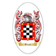 Bazan Sticker (Oval)