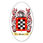 Bazan Sticker (Oval 10 pk)