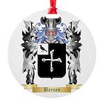 Baynes Round Ornament