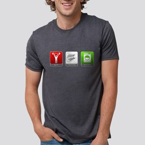 GTL - Gym, Tanning, Laundry Mens Tri-blend T-Shirt