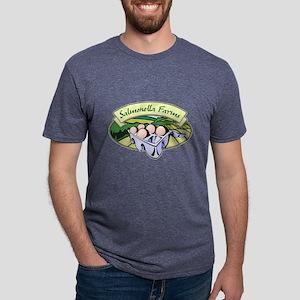 Salmonella Farms - Eggs Mens Tri-blend T-Shirt