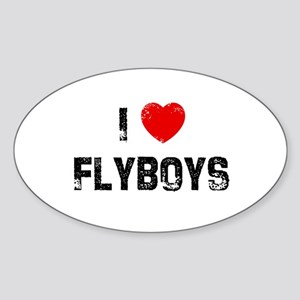 I * Flyboys Oval Sticker