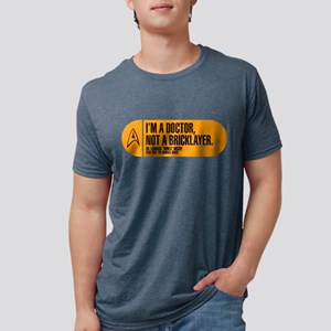 I'm a Doctor Not a Bricklayer Mens Tri-blend T-Shi
