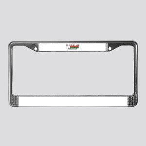 Born In Madagascar License Plate Frame