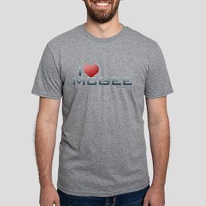 I Heart McGee Mens Tri-blend T-Shirt