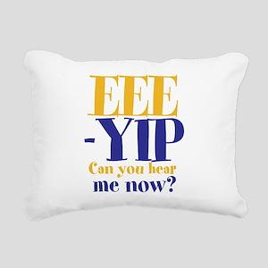 EEE-YIP Rectangular Canvas Pillow