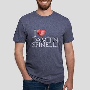 I Heart Damien Spinelli Mens Tri-blend T-Shirt