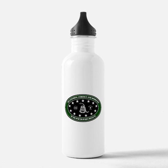 All Enemies Water Bottle