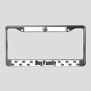 Golden Retriever Puppy License Plate Frame