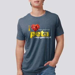 I Heart Peta Murgatroyd Mens Tri-blend T-Shirt