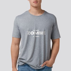 Generic ZOMBIE Costume Mens Tri-blend T-Shirt