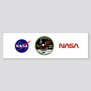 Apollo 11 40th Anniversary Bumper Sticker