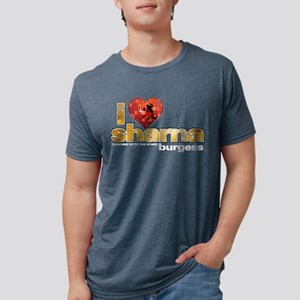 I Heart Sharna Burgess Mens Tri-blend T-Shirt