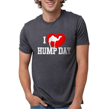 I Heart Hump Day Mens Tri-blend T-Shirt