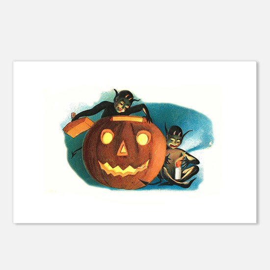 Halloween Goblins Postcards (Package of 8)