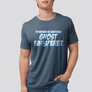 I'd Rather Be Watching Ghost Mens Tri-blend T-Shir
