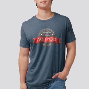 Certified Addict: Mighty Mous Mens Tri-blend T-Shi