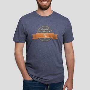 Certified Addict: Taxi Mens Tri-blend T-Shirt
