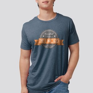 Certified Addict: The L Word Mens Tri-blend T-Shir